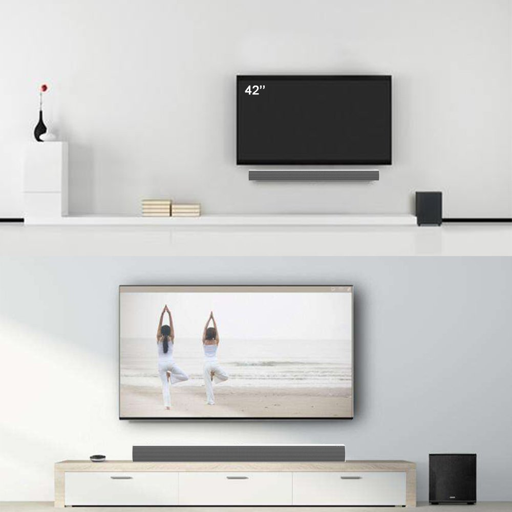 LONPOO 609W Bluetooth Heimkino Sound Bar-Lautsprecher: Amazon.de ...
