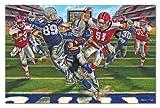 Melissa & Doug Football Touchdown Jumbo Jigsaw Floor Puzzle (48 pcs, 2 x 3 feet)