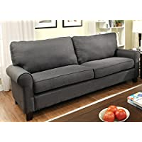 Furniture of America Levine Classic Sofa, Gray