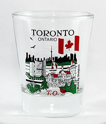 Toronto Ontario Canada Great Canadian Cities Collection Shot Glass