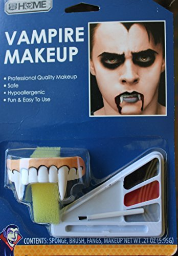 1 Dracula/vampire Face Painting Kit, fangs