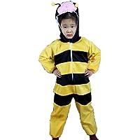 Matissa Niños Disfraces de Animales Niños Niñas Unisex Disfraces Cosplay Niños Onesie (Abeja, S (para niños de 80 a 90…