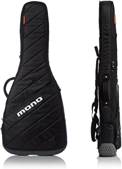 Mono m80-vhb-blk Vertigo hueca cuerpo funda para guitarra ...