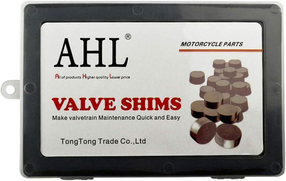AHL 7.48mm 46pcs 1.225-3.475mm kit valve shim pastilles soupapes pour YZF-R6 1999-2009