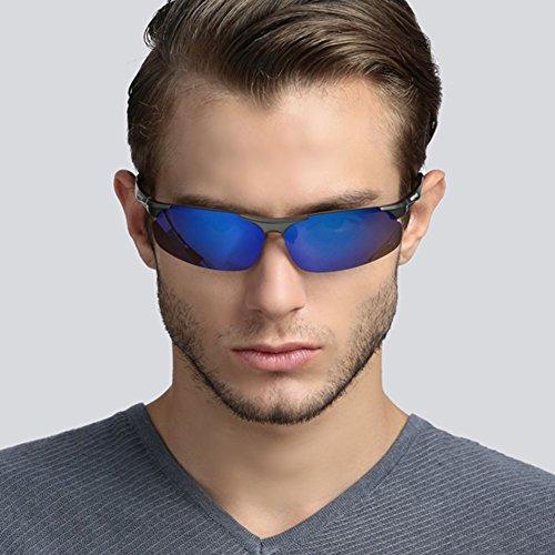 Gafas De YQ Color Hombre De 1 1 para Gafas Gafas QY Sol De Polarizadas Gafas Sol Deportivas Conducción qwZUZrXY