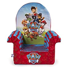 Marshmallow Furniture, Children's Foam High Back Chair, Nickelodeon Paw Patrol, by Spin Master