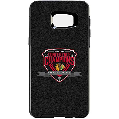 NHL Chicago Blackhawks Otterbox Symmetry Galaxy S6 Edge+ Skin - Western Conference Champions 2015 Chicago Blackhawks Vinyl Decal Skin For Your Symmetry Galaxy S6 Edge+ by Skinit