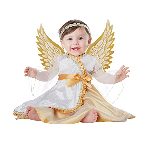 California Costumes Baby-Girls Infant Angel, White/Gold