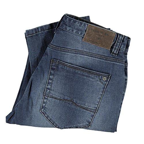 engbers Herren Jeans mit modischer Waschung, 23628, Blau