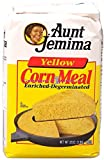 Aunt Jemima Yellow Corn meal 2lb (pack of 2) 4lbs total