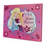 Disney Frozen LED Canvas Wall Art, Pink, 11.5 x 15.75