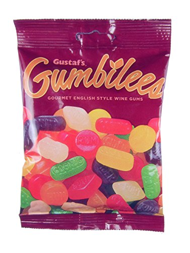 - Gustaf's Gumbilees Gourmet English Style Wine Gums, 5.2 Ounce (Pack of 12)