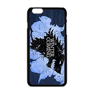 Happy Winter Coming Hot Seller Stylish Hard Case For Iphone 6 Plus