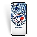 MLB-Iphone 6/6s Case Toronto Blue Jays for Man Kids Baseball Team Logo Case for Iphone 6/6s Durable