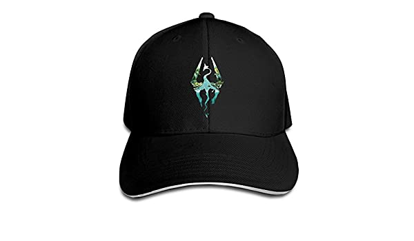 skyrim baseball cap mod amazon dragon adjustable adult sports outdoors hat
