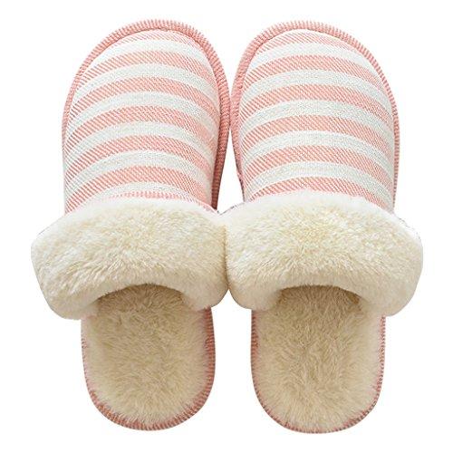 Confortables Rayures 1 Pattern Chaussures Dww Antidérapante chaussons Slipper Femmes Maison Imperméable À Épaisses x4v4qw8O