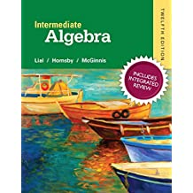 Intermediate Algebra with Integrated Review and worksheets plus NEW MyMathLab with Pearson eText, Access Card Package (12th Edition)