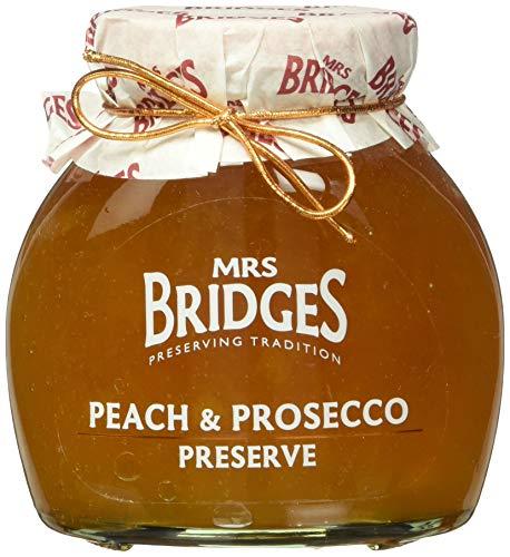 Mrs Bridges Peach and Prosecco Preserve, 12-Ounce
