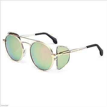 8bb9e39b93 Ju-sheng Gafas de Sol para Mujer Gafas de Sol con Montura metálica, Montura