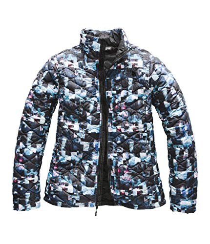 The North Face Women Thermoball Full Zip - Multi Glitch Print - S