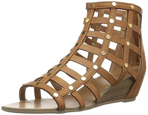 Report Women's Maxton Wedge Sandal, tan, 10 Medium -