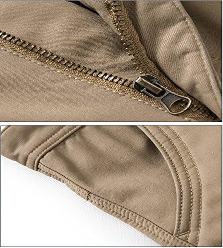 jenteel Mens Multi Pockets Cargo Pants /…