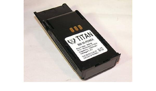 HNN9049A HNN9050 HNN9050A HNN9051A Battery for MOTOROLA Radius P1225 LS Radio