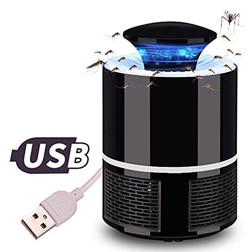 Pawaca LED mosquito killer lamp without radiation USB Powered Non-toxic UV...