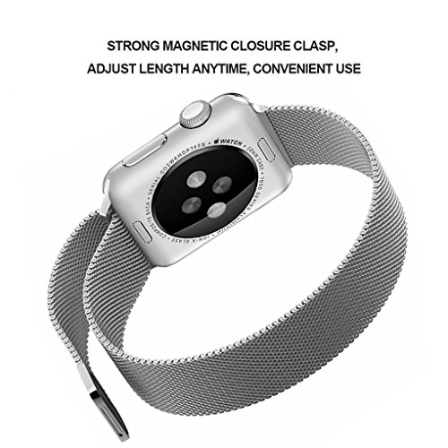 Penom Apple Watch Band, 38mm Mesh Loop with Fully Strong Magnetic Stainless...