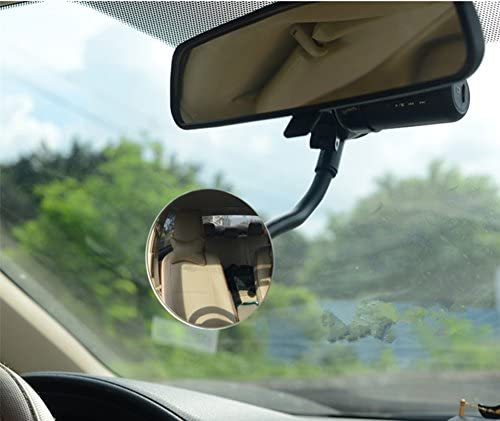Square Moyishi Blind Spot Adjustable Baby Car Mirror 360/° Rotate Suction Cup Long Arm Rear Facing Mirror For All Universal Vehicles Car Fit