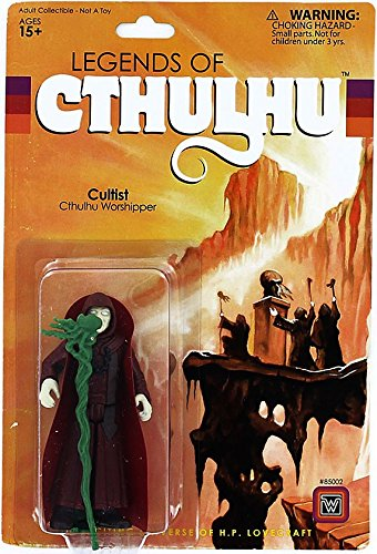 Warpo Toys Legends of Cthulhu Cultist Retro Action Figure
