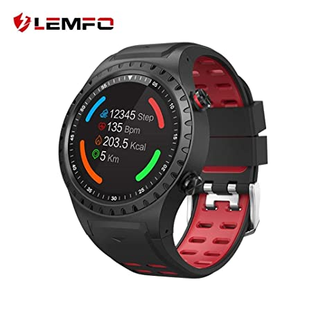 LEMFO - Reloj de Pulsera para Hombre (IP67, Resistente al ...