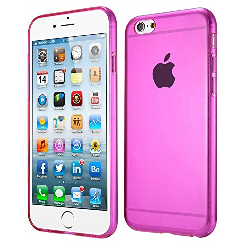 "iPhone 6 Case - SODIAL(R)Ultraduenner Weicher TPU Rose Roter Case fuer iPhone 6Plus 5.5"""