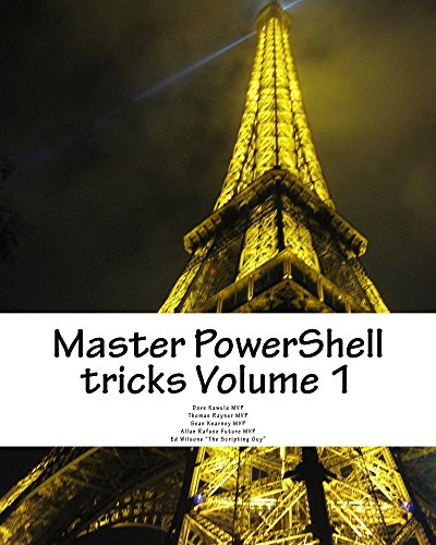 Master PowerShell tricks (Volume 1) cover