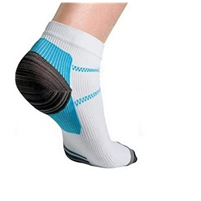 Coohole Fashion Veins Socks Compression Socks With The Spurs For Plantar Fasciitis Arch Pain