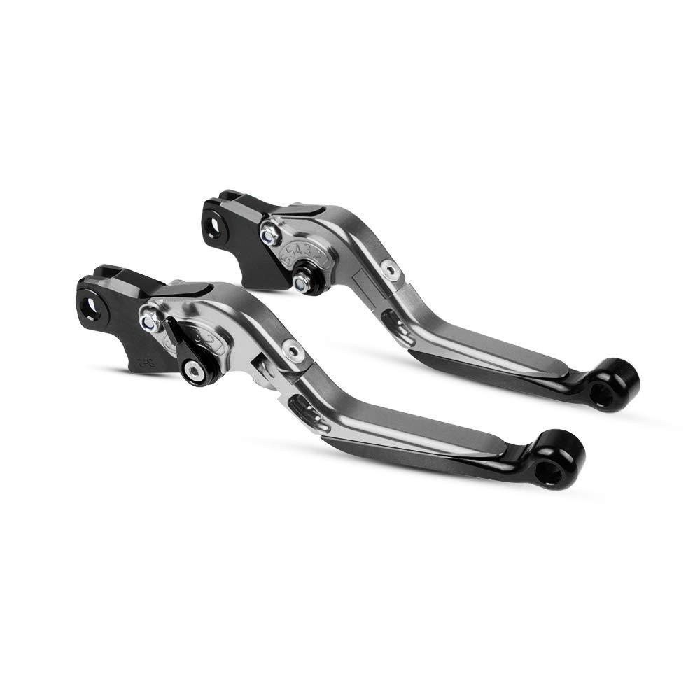 Moto Leviers dembrayage de Frein CNC Ajustable pour B-M-W K1200R S K1200RSPROT K1300S R GT K1600GT GTL R1200GS R RT Se St HP2 Megamoto HP2 Enduro-TIBKTIBK