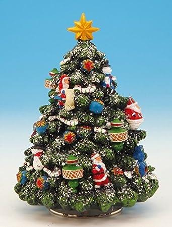 Amazon.de: Musicbox Königreich 52035 150 mm verziert Weihnachtsbaum ...
