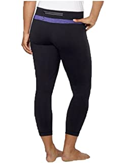 XS//S//M Kirkland Signature Women/'s Reversible Workout Stretch Capri Yoga Pant