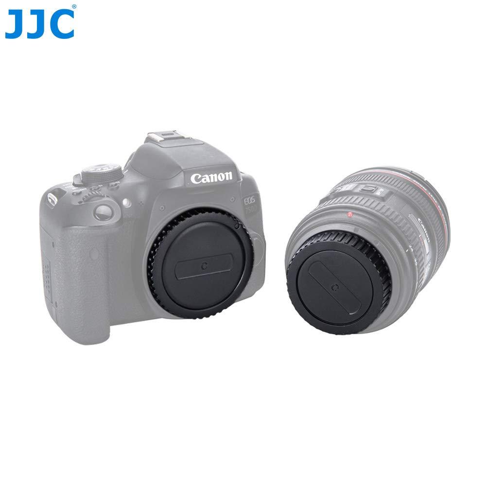 Panasonic M4//3 Mirrorless and Objetivo Conjunto de 2 Tapa del Objetivo de C/ámara para Micro Four Thirds i.e Olympus JJC Tapa de Cuerpo