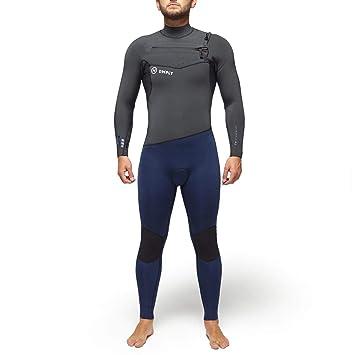 DEEPLY Traje DE Surf Hombre Premium 4/3 Chest Zip: Amazon.es ...