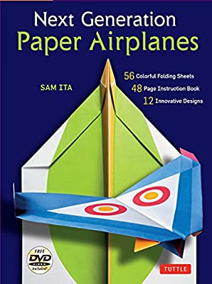Next Generation Paper Airplanes Kit: [Origami Kit with DVD, Book, 56 Paper Airplanes]