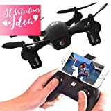 FADER Drone With HD Video Camera - App Live View - Altitude Hold - FPV Quadcopter - Mini Drone With WiFi & Joystick Remote Control