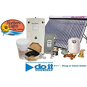 Northern Lights Group SWH-1 Solar Hot Water Heating Package - DIY Solar Kits