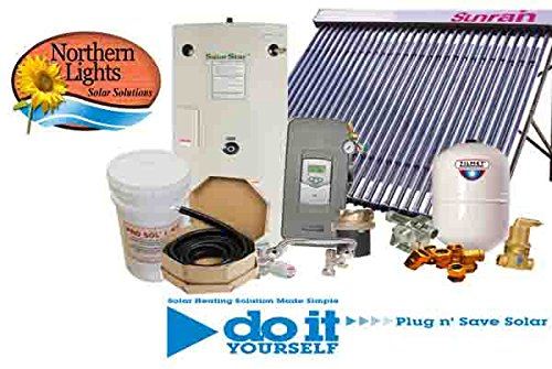 (Northern Lights Group SWH-1 Solar Hot Water Heating Package - DIY Solar)