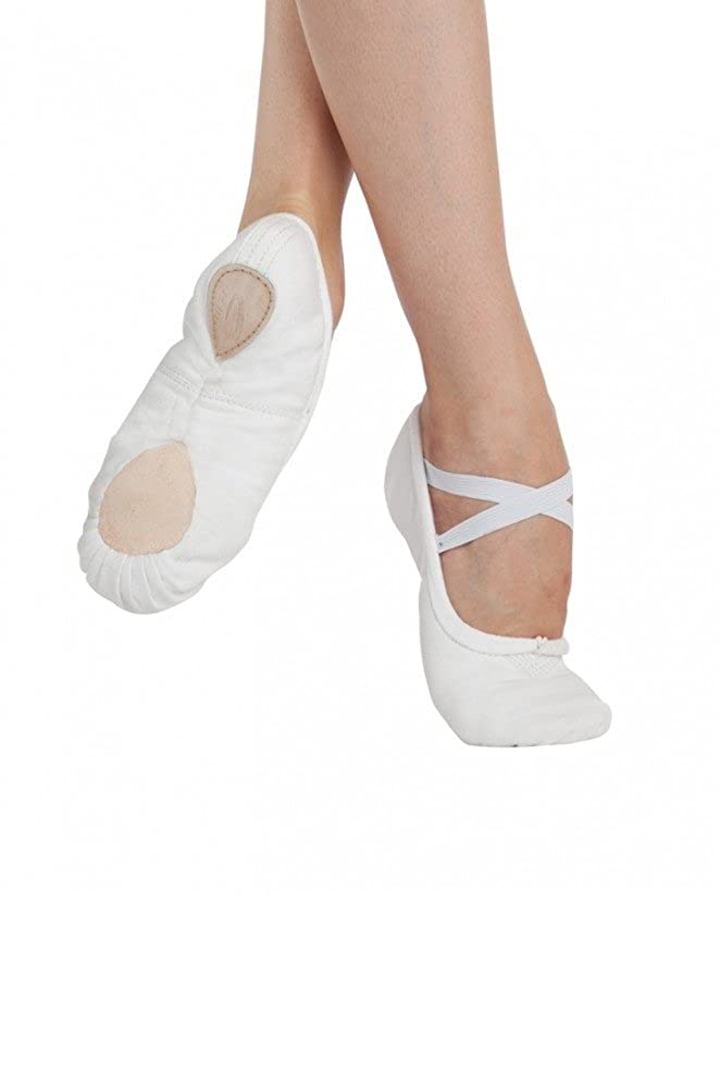 8832311cc1214 Canvas Ballet Shoes White