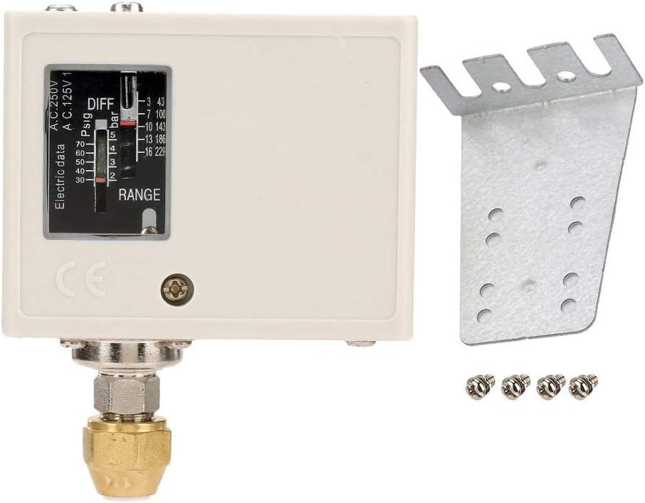 Luftkompressor Regler Elektronischer 24v 380v Druckschalter Luft Wasserpumpe Kompressor Druckregler Baumarkt