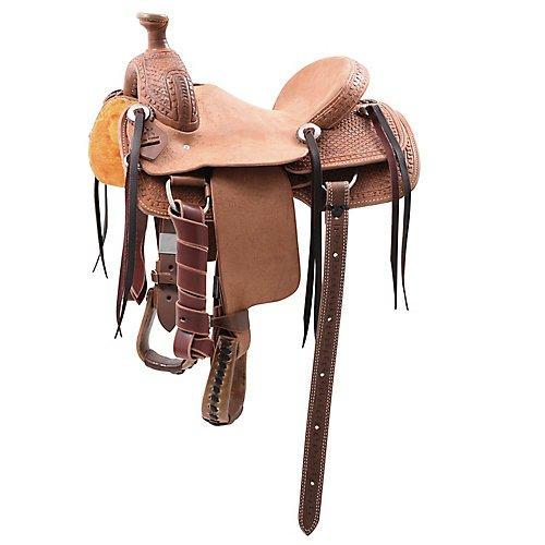 Cashel Cowboy Kid Roper Saddle 12in (Roper Saddle Kids)