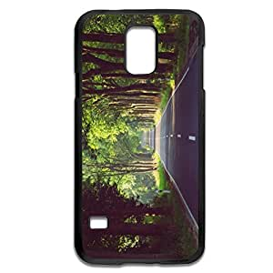 Samsung Galaxy S5 Cases Forest Design Hard Back Cover Shell Desgined By RRG2G