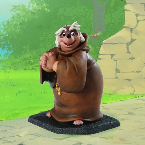 "Friars Kitchen: Amazon.com: Friar Tuck: Bemused Badger 7.25"" Statue: Home"
