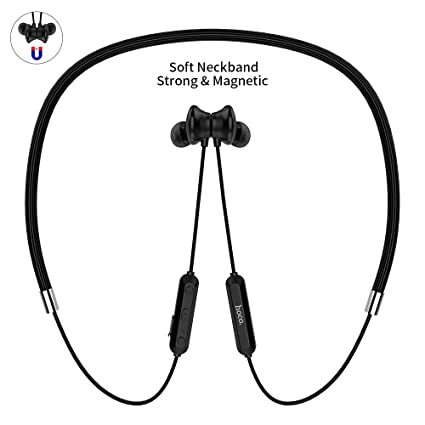 Auriculares Bluetooth, HOCO. Magnético Inalámbrico Ligero Deporte Auriculares Bluetooth V4.2 con Micrófono